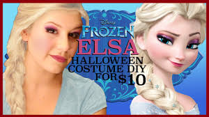 elsa halloween costume diy for 10 youtube