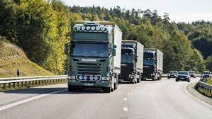 volvo trucks singapore scania designs full scale autonomous truck platoon drive sweden