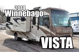 2014 winnebago vista 27n class a motorhome review youtube