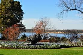 White Rock Garden White Rock Lake Picture Of Dallas Arboretum Botanical Gardens