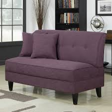 Inexpensive Loveseats Purple Color For Living Room To Create An Attractive Guest By