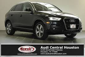 audi suv houston used 2015 audi q3 wa1efcfsxfr004778 for sale in houston tx