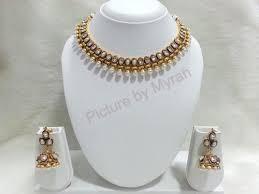 light weight gold necklace designs light weight necklace set polki necklace sets zaveri bazar