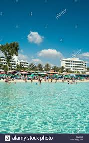 resort on mediterranean sea the nissi beach ayia napa cyprus