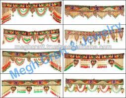 indian home decorative toran wholesale crystal beaded door