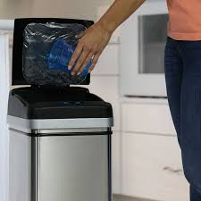 Kitchen Trash Compactor by Amazon Com Halo 13 Gallon Touchless Trash Compactor Automatic