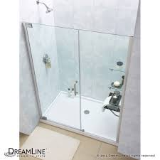 24 Frameless Shower Door Bath4all Dreamline Dl 6206l 01cl Elegance Frameless Shower Door