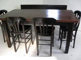 Farmhouse Tables - Pub style dining room table