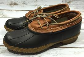 s bean boots size 9 aqua duck shoes mens ll bean low boots moccasins