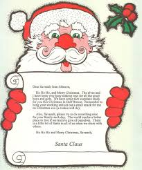 santa claus letters letter from santa claus kovy s early books