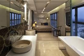 salle de bain ouverte sur chambre design d intérieur salle de bain ouverte chambre idee fusion d