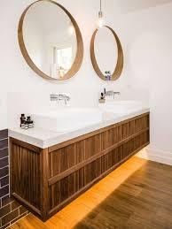 double bathroom mirror houzz