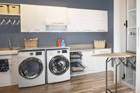Laundry Room Cabinets With Hanging Rod Laundry Room Cabinets Scottsdale Az Laundry Room Designers