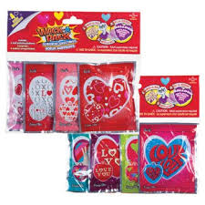 smack the pack balloon valentines wack a pack assorted self inflating foil