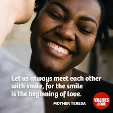 quote about meeting your heroes let us always meet each other with smile for the smile is the