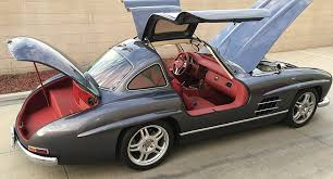 mercedes 300sl would you drive a mercedes 300 sl gullwing replica based on an slk