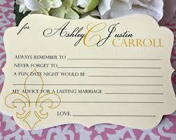 wedding wishes and advice cards personalized stationery for weddings and other by paperloveprints
