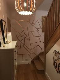 decorative ideas the best copper slug tape on walls inside bedrooms for decorative