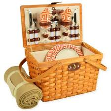 Wine Picnic Basket Buy Wine Picnic Baskets From Bed Bath U0026 Beyond