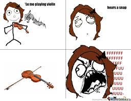 Violin Meme - broke a violin string by dragonlady meme center