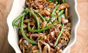 green bean casserole with crispy shallots recipe relish