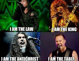 James Hetfield Meme - james hetfield reacts to table memes i love it music news