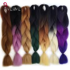 Two Tone Ombre Hair Extensions by Online Shop Ombre Kanekalon Braiding Hair Braid 100g Piece