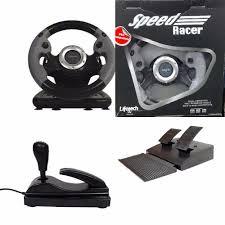 joystick volante joystick volante para ps3 ps2 e pc usb c pedais e c磚mbio r