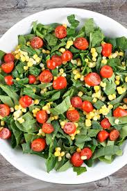 Garden Salad Ideas Spinach Salad With Chicken Avocado And Goat Cheese Recipegirl