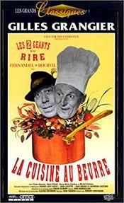 la cuisine au beurre la cuisine au beurre vhs fernandel bourvil maurier