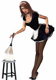 la femme de chambre la femme de ménage
