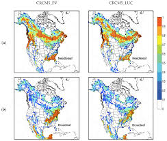 Climate Map Of North America by Atmosphere Free Full Text Biophysical Impacts Of Land Use