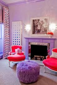 modern home decorating ideas blending purple color into creative