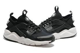 Nike Sport cheapest nike air huarache run ultra trainers black white 819685 001