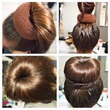 hairstyles with a hair donut 45 best hair fashion images on pinterest hair hairdos and hair