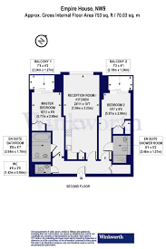 2 bedroom property for sale in empire house 6 east drive london