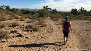 Phoenix Mountain Preserve Map by 365 Phoenix Hikes 3 Tatum Boulevard Trailhead The Arizona