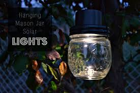how to make a solar light from scratch hanging mason jar solar lights how to make a hanging light home