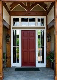 Fiberglass Exterior Doors With Sidelights Henselstone Window And Door Systems Fiberglass Front Entry Doors