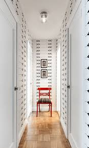 Black And White Wallpaper For Bathrooms - 28 stunning wallpaper ideas your home needs freshome com