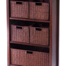 Basket Storage Shelves by Brocktonplace Com Page 93 Rustic Kitchen With Metal Storage