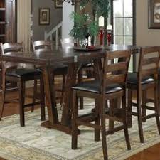 bar height table set steve silver tiffany square bar height table from hayneedle com
