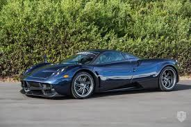 blue pagani 2014 pagani huayra in newport beach ca united states for sale on