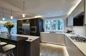 Kitchen Designers Surrey Case Study 003 Leather U0026 Linen A Contemporary Luxury Designer