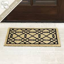 Suzanne Kasler Quatrefoil Border Indoor Outdoor Rug 7 Best Outdoor Mats Images On Pinterest Entrance Mats Outdoor