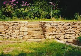 Garden Rock Wall by Natural Stone Garden Wall Rock Garden Design Tips 15 Rocks Garden
