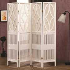 Home Dividers Alluring Freestanding Room Dividers Ideas Comes With Four Panel