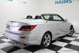 used lexus is 250 convertible 2012 used lexus is 250c 2dr convertible automatic at haims motors