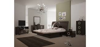 Wenge Bedroom Furniture Monte Carlo Bedroom Set In Wenge Lacquer Finish