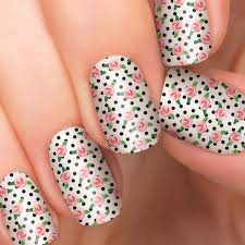 blushing beauty nail polish appliqués incoco